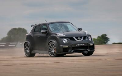 Nissan odhalil brutální 600koňový Juke s motorem z GT-R Nismo a zároveň dosahuje nového světového rekordu!