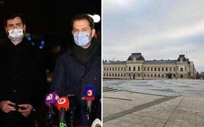 Nitra sa zmenila na nepoznanie, je úplne vyľudnená: Boli sme sa pozrieť, ako to vyzerá v najhoršie postihnutom okrese na Slovensku