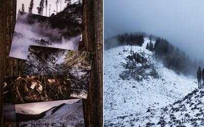 Nízke Tatry sa menia na gigantické rúbanisko. Slovenka vyrobila ironické pohľadnice ukazujúce odvrátenú tvár Jasnej