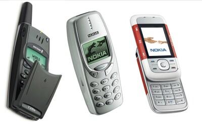 Nokia 3310, 5300, Ericsson T28 a další legendární mobily, které tu byly ještě před iPhonem