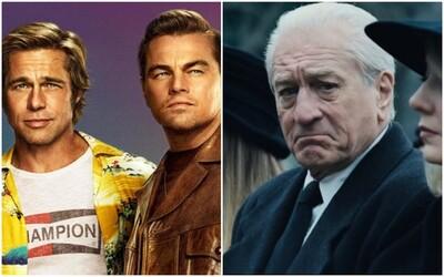Nominace na Zlaté glóby jsou známé. O sošky se poperou Irishman, Tarantino, Marriage Story od Netflixu či Parazit