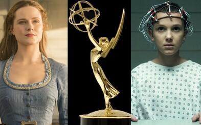 Nominácie 69. ročníka cien Emmy ovládol Westworld a Stranger Things. Ocenenia si môžu odniesť aj Better Call Saul či The Handmaid's Tale