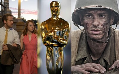 Nominácie na Oscarov zverejnené! La La Land bude bojovať o zlatú sošku v 13 kategóriách, šancu na víťazstvo má ale aj Mel Gibson a jeho Hacksaw Ridge