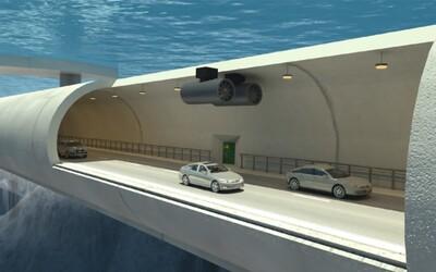 Nóri sa chystajú stavať podvodné plávajúce tunely. Čas na ceste by vedeli niekde skrátiť aj o polovicu