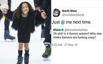 Nori's Black Book si na Instagrame uťahuje z Kardashianiek a Jenneriek. Paródia na North West vás zaručene pobaví