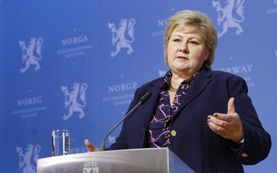 Nórska premiérka porušila koronavírusové opatrenia, ktoré schválila jej vláda. Dostala 2-tisícovú pokutu