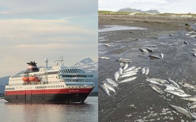 Nórske výletné lode budú čoskoro poháňané pomocou mŕtvych tiel živočíchov