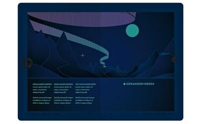 Nórsko prichádza s novým dizajnom cestovných pasov, pod UV svetlom ukazujú krásy polárnej žiary