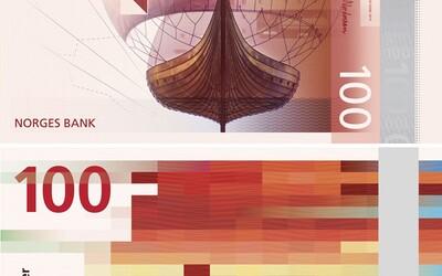 Norsko u svých nových bankovek vsadilo na pixely, sleduj novou podobu severského platidla