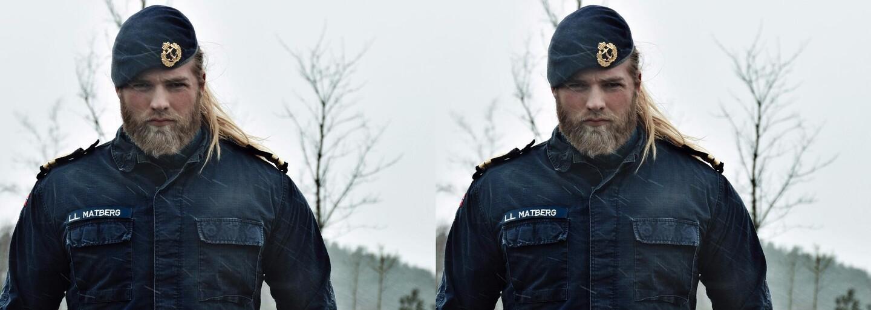 Norský námořník, nebo novodobý Viking? Ženy na něm mohou nechat oči, když spatří jeho severský vzhled