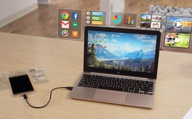 Notebook s 8-hodinovou výdržou za 90 €? Stačí vám k nemu výkonný smartfón s Androidom