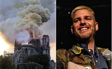 Notre-Dame zachránia miliardári, Ego našiel najhoršieho rapera. Posledné dni boli opäť rušné