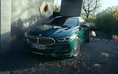 Nová Alpina B8 Gran Coupé je ještě výkonnější než BMW M8, má výkon 621 koní