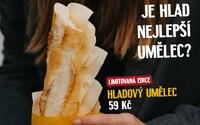 Nová bageta Hladový umělec pomáhá divadlům. Bageterie Boulevard jim věnuje 10 korun z každého prodaného kusu