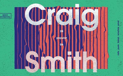 Nová Cvernovka privíta legendárneho Craiga Smitha. Príď si užiť multižánrový set pri západe slnka