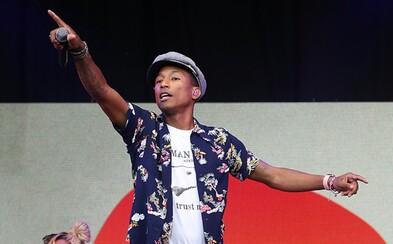 Nová, inšpiratívna skladba od Pharrella je vďaka Apple Music konečne vonku aj v štúdiovej kvalite