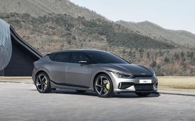 Nová Kia EV6 bude mít dojezd 510 kilometrů, nejsilnější verze má přitom až 585 koní