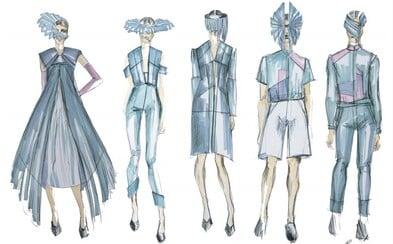 Nová kolekcia dizajnérky Samuely Takáčovej prinesie na Fashion LIVE! éterickú a pominuteľnú ľahkosť bublín