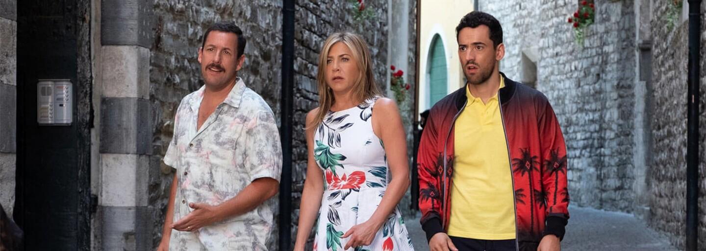 Nová komédia Adama Sandlera a Jennifer Aniston je podľa Netflixu ich najúspešnejším filmom vôbec