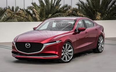 Nová Mazda 6 pôjde v šľapajách BMW. Dostane radový šesťvalec a pohon zadných kolies
