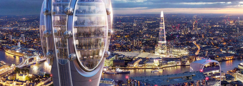 Nová moderná budova v Londýne trojnásobne zatieni Big Ben