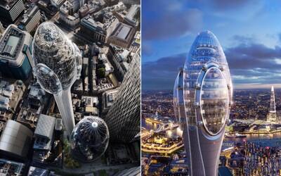 Nová moderní budova v Londýně trojnásobně zastíní Big Ben