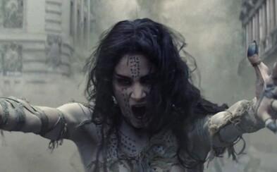 Nová Múmia odhaľuje svoje ničivé schopnosti v debutovej ukážke pre očakávanú snímku z prepojeného sveta klasických hororových monštier