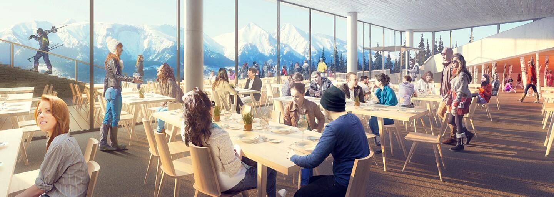 Nová reštaurácia v Bachledovej doline ponúkne výhľad na Tatry či enviromentálnu miestnosť