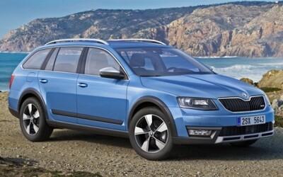 Nová Škoda Octavia Scout: Oplastovaný kombík prichádza
