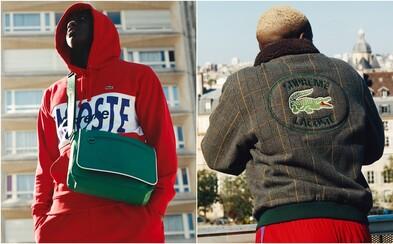 Nová spolupráce Supreme x Lacoste potvrzuje, že sportovní elegance skutečně existuje