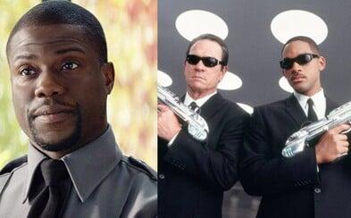 Nová verzia Mužov v čiernom dostala oficiálny názov a oscarový večer bude moderovať Kevin Hart