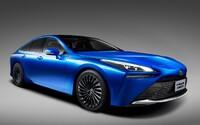 Nová vodíková Toyota Mirai slibuje dojezd až 850 kilometrů