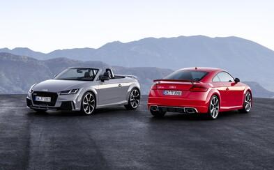 Nové 400-koňové žihadlá od Audi, TT RS Coupé a Roadster, sú rýchlejšie, ako by niekto čakal!