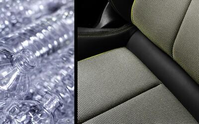 Nové Audi A3 dostane potahy sedadel vyrobené z recyklovaného materiálu