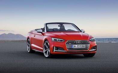Nové Audi A5 přichází o střechu. Nechybí vrcholná verze S5 Cabriolet s 354 koňmi nebo unikátní mikrofon