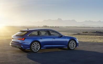 Nové Audi A6 přichází v praktické podobě. Avant poutá dynamičtějšími a stylovějšími křivkami
