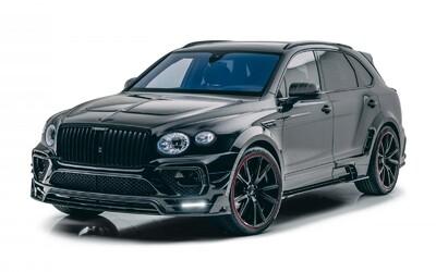 Nové Bentley Bentayga si vzalo do parády už i Mansory. Výsledkem je karbonový bodykit a až 750 koní