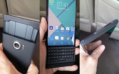 Nové BlackBerry Priv je už oficiálne dostupné na predobjednanie. Za kvalitu a dizajn si však poriadne priplatíte