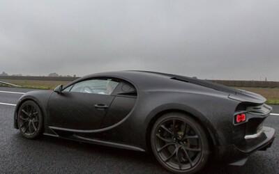 Nové Bugatti Chiron zachytené pri testovaní v Taliansku! Bude takto vyzerať aj finálna podoba?