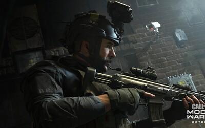 Nové Call of Duty: Modern Warfare slibuje akční kampaň. Všechna DLC budou zdarma