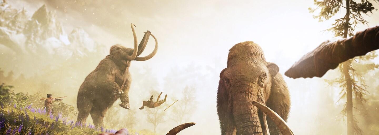 Nové Far Cry sa presunie do doby kamennej, kde vládnu mamuty a šabľozubé tigre