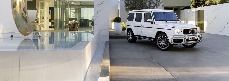 Nový model třídy G vyfasoval i AMG verzi. Ikonická krabička tak dostala do vínku až 585 koní