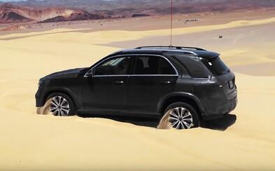 Nové GLE príde s revolučným systémom, ktorý dokáže sám vyslobodiť zapadnuté vozidlo