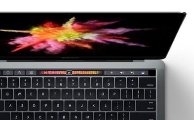 Nové laptopy od Apple sú tu. MacBook Pro dostal druhý displej s dotykom, tenšie telo a krajší dizajn