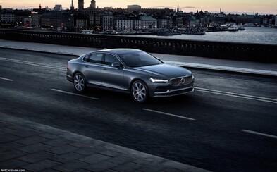 Nové luxusní Volvo S90 odhaleno už i oficiální cestou. Vypadá nádherně!