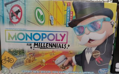 Nové Monopoly sa vysmievajú mileniálom. Nekúpiš si v nich nehnuteľnosti, lebo na ne aj tak nemáš peniaze