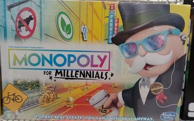 Nové Monopoly se vysmívají mileniálům. Nekoupíš v nich nemovitosti, protože na ně nemáš peníze