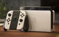 Nové Nintendo Switch má jen vylepšený displej, ale stojí podobně jako Xbox Series S