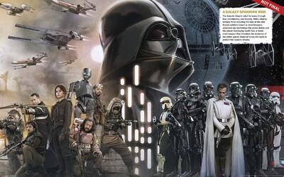 Nové obrázky a informácie o Rogue One: A Star Wars Story. Potvrdila sa definitívne účasť Dartha Vadera?