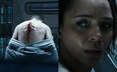 Nové obrázky z Aliena hovoria jasnou rečou. Nepôjde o žiadne úsmevné sci-fi, ale krvavý a strašidelný horor